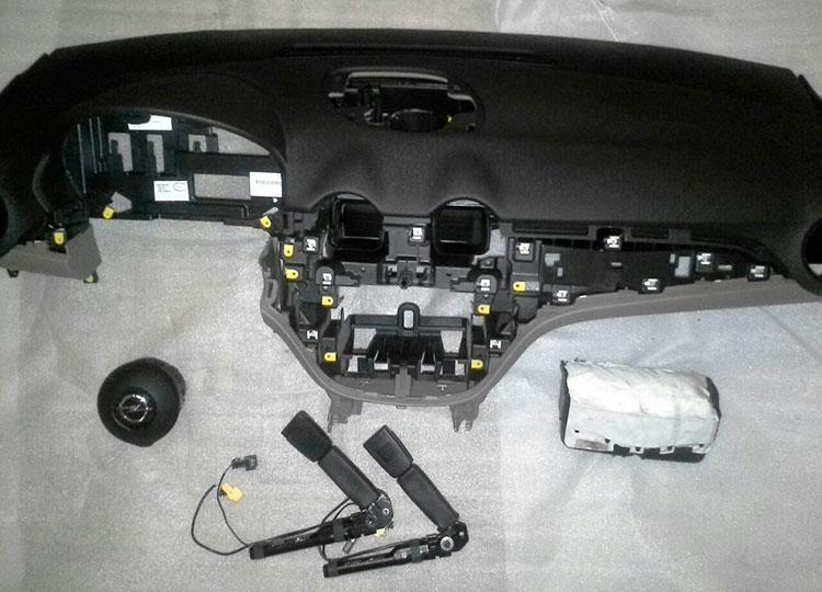 juego airbags opel agila